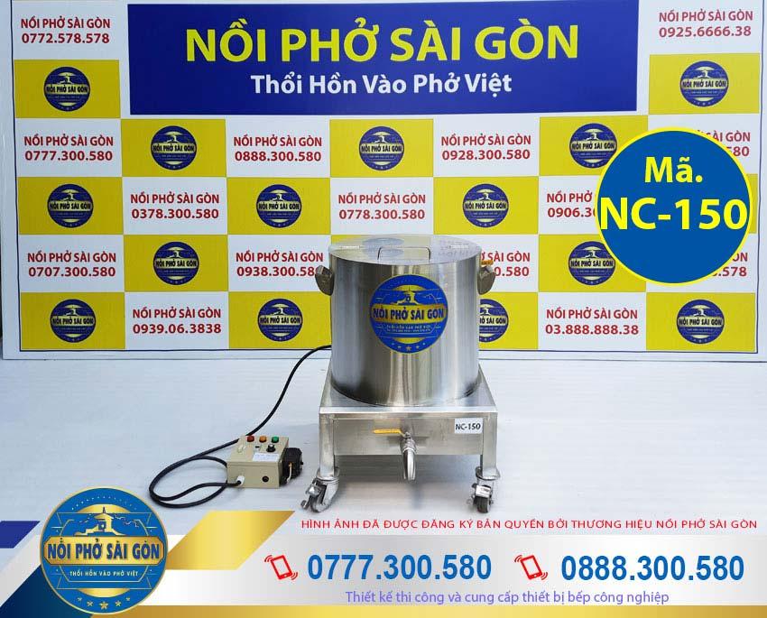 Nồi Phở Sài Gòn - Địa chỉ mua nồi nấu cháo điện công nghiệp 150L, nồi nấu cháo bằng điện, nồi điện nấu cháo bán chất lượng nhất tại TPHCM.