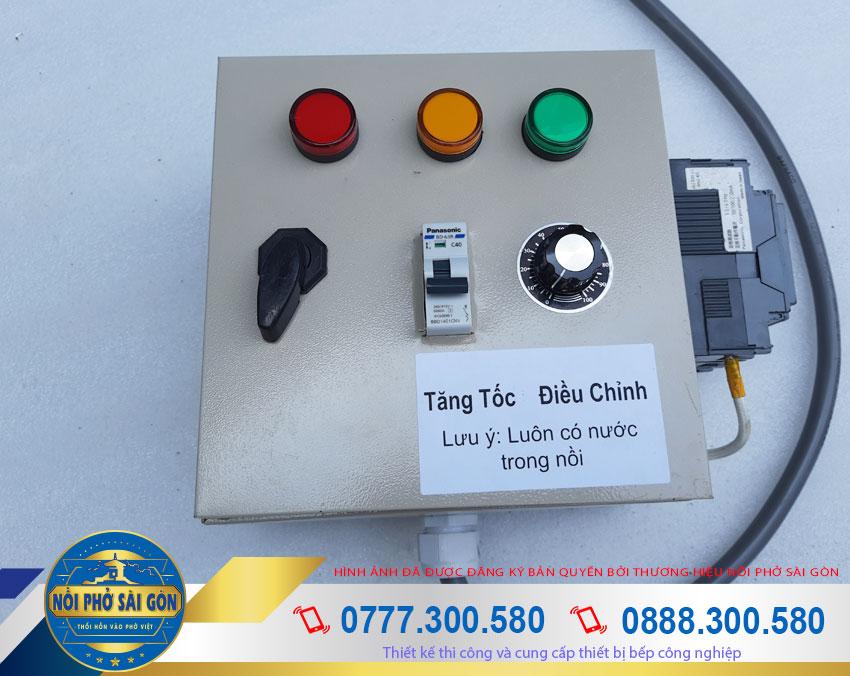 Nồi hấp xôi công nghiệp, nồi hông xôi bằng điện sử dụng hợp điện điều khiển với thiết kế rời.