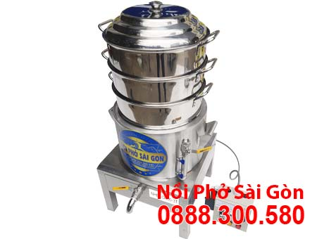 Nồi Hấp Bánh Bao Điện Công Nghiệp 3 Tầng NHBB-D500-3T
