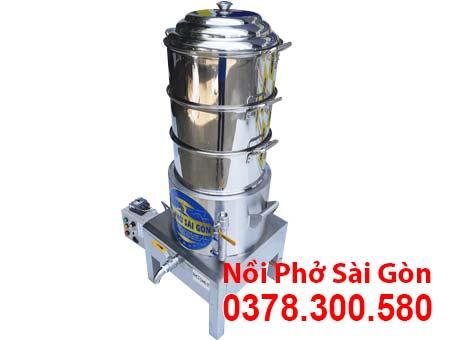 Nồi Hấp Cơm Tấm Điện Công Nghiệp 3 Tầng NHCT-D440-3T
