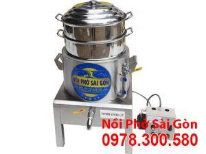 Nồi Hấp Bánh Bao 2 Tầng Điện Công Nghiệp NHBB-D440-2T