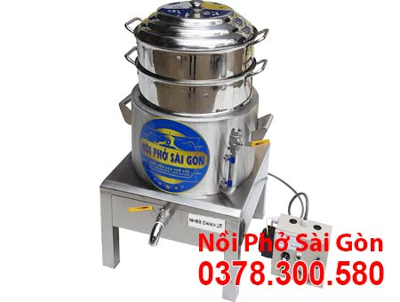 Xửng Hấp Bánh Bao Bằng Điện 2 Tầng NHBB-D400-2T