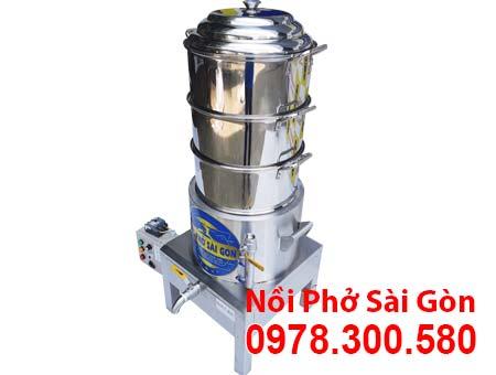 Xửng Hấp Cơm Tấm Bằng Điện 3 Tầng NHCT-D400-3T