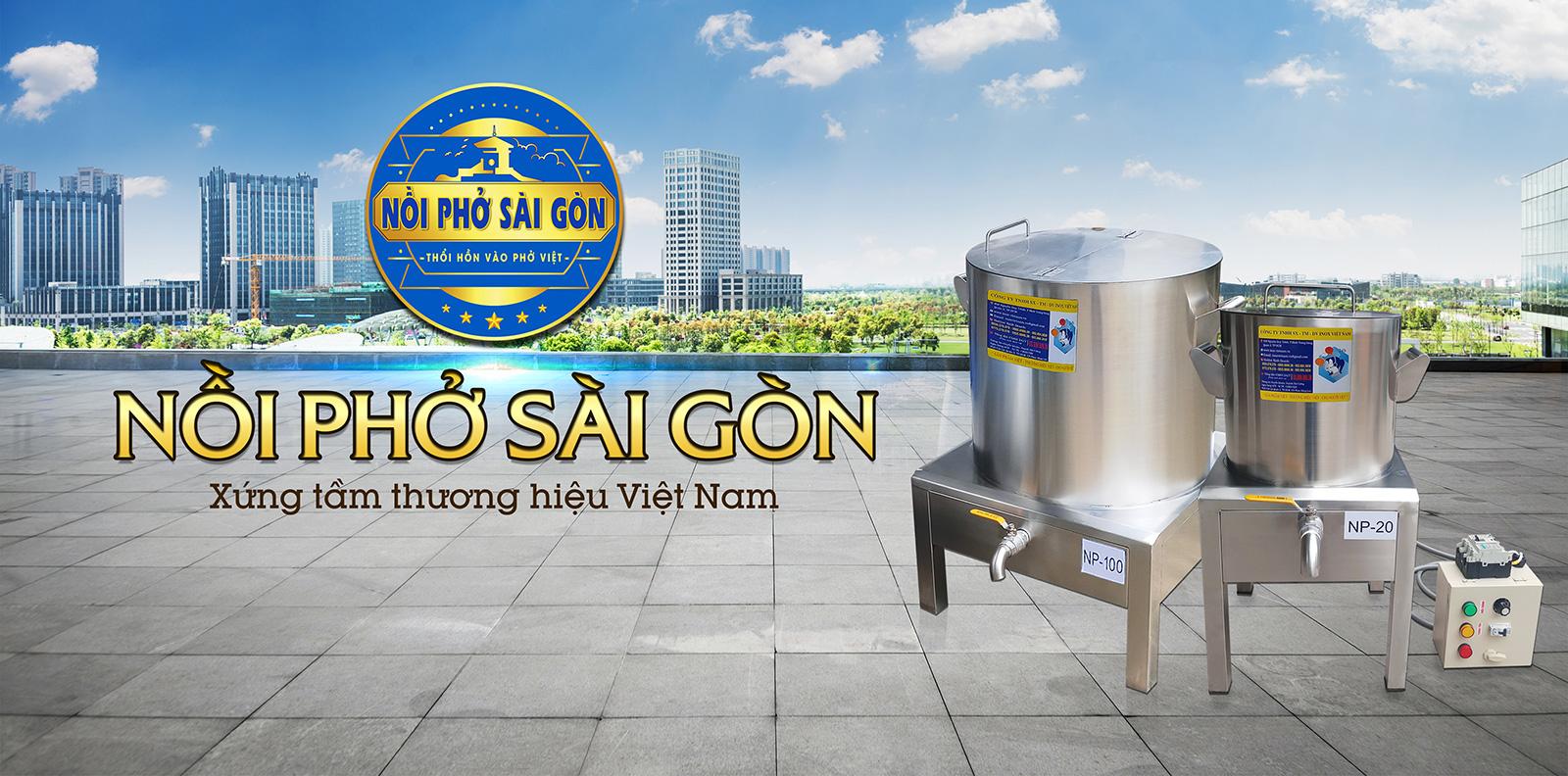 Nồi Phở Sài Gòn - Địa chỉ bán nồi nấu phở bằng điện uy tín, chất lượng.