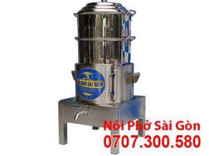 Nồi Hấp Cơm Tấm Bằng Điện 2 Tầng [Xửng hấp 400mm] NHCT-D400-2T