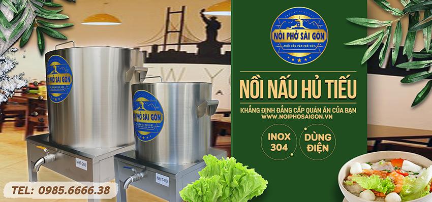 Mua ngay nồi nấu hủ tiếu bằng điện thương hiệu Nồi Phở Sài Gòn.