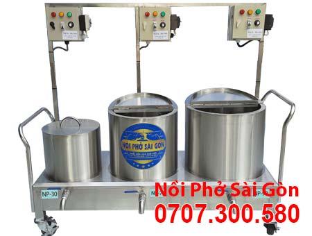 Bộ nồi điện nấu phở 30L-100L-120L.