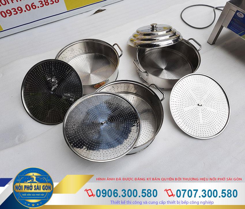 Xửng hấp xôi bằng điện, xửng hấp xôi công nghiệp, xửng hấp xôi inox. Được sản xuất chất liệu inox 304 bền đẹp, an toàn vệ sinh thực phẩm.