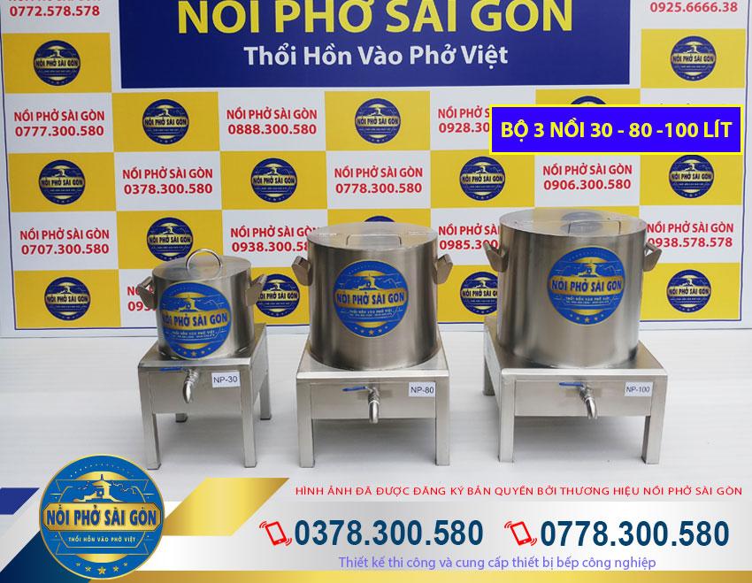 Thương hiệu Nồi Phở Sài Gòn - Địa chỉ mua bộ nồi nấu phở bằng điện chất liệu inox 304 cao cấp giá tốt tại TPHCM.