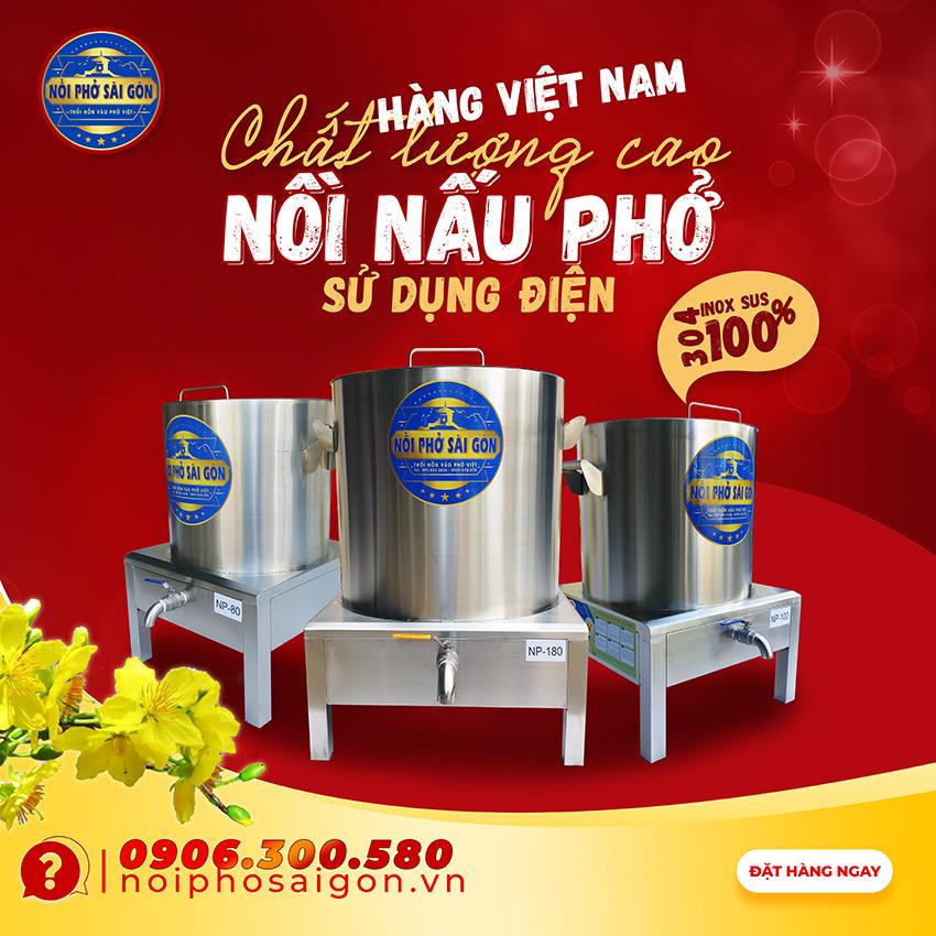 Noiphosaigon.vn - Địa chỉ bán nồi nấu phở bằng điện giá tốt tại TPHCM.